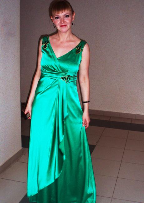 Сценичное платье